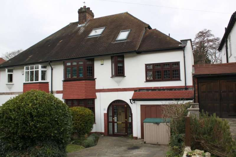 5 Bedrooms Semi Detached House for sale in Wood Ride, Petts Wood East