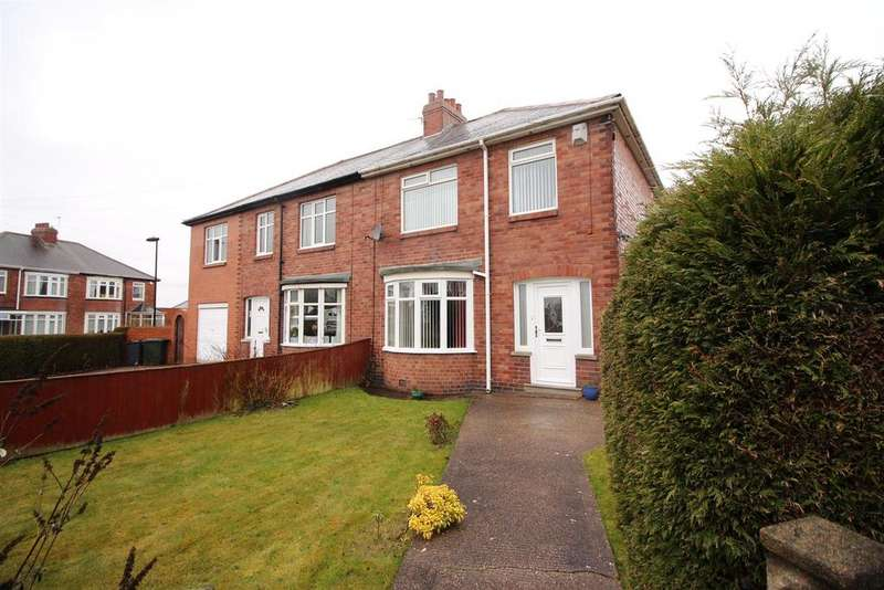 3 Bedrooms Semi Detached House for sale in Firtree Avenue, Forest Hall, Newcastle Upon Tyne