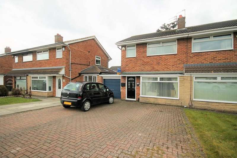 3 Bedrooms Semi Detached House for sale in Lulsgate, Thornaby, Stockton-On-Tees