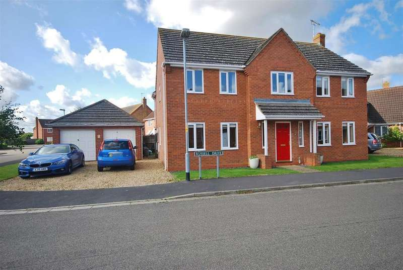 4 Bedrooms Detached House for sale in Russell Drive, Cowbit Spalding