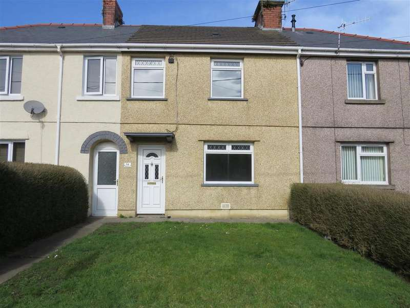 2 Bedrooms Terraced House for sale in Glasfryn, Llanelli