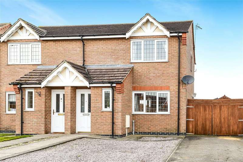 3 Bedrooms Semi Detached House for sale in Gunfleet Close, Swineshead, PE20