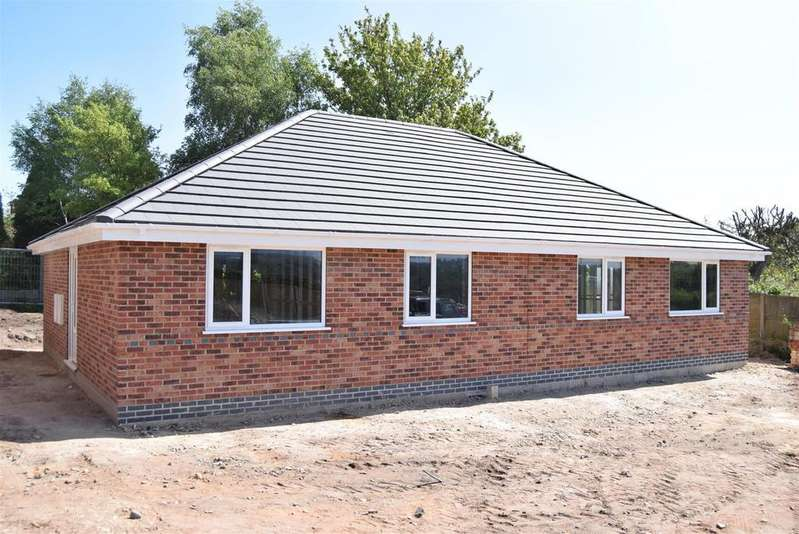 2 Bedrooms Semi Detached Bungalow for sale in Plot 12, Little Haven, Clipstone Road West, Forest Town