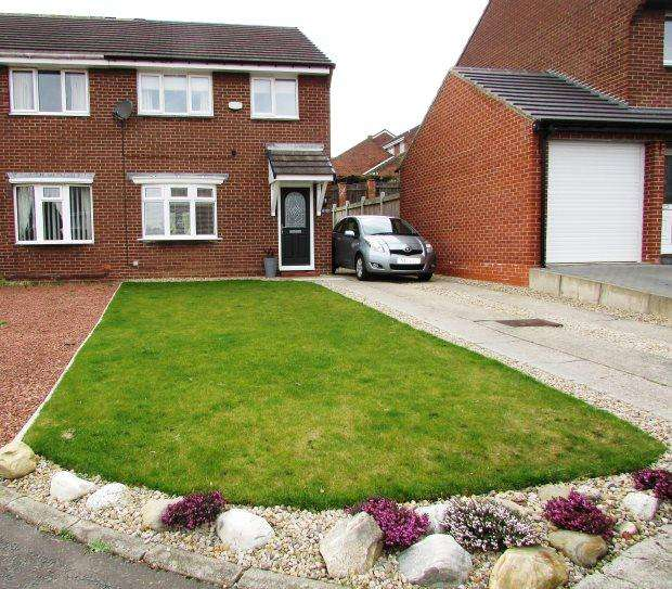 3 Bedrooms Semi Detached House for sale in HAVERLEY DRIVE, SEAHAM, SEAHAM DISTRICT