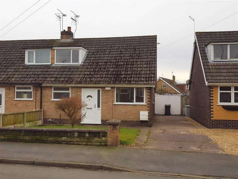 3 Bedrooms Semi Detached Bungalow for sale in Barons Road, Crewe, Cheshire