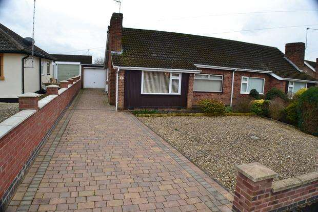 2 Bedrooms Bungalow for sale in Dorset Avenue, Fairfield Estate, Leicester, LE18