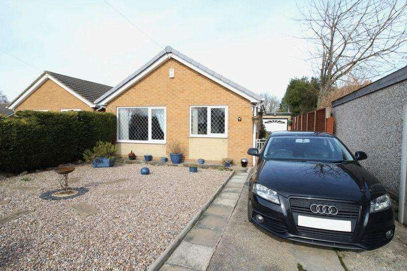 2 Bedrooms Detached Bungalow for sale in KEVIN CLOSE, CHADDESDEN