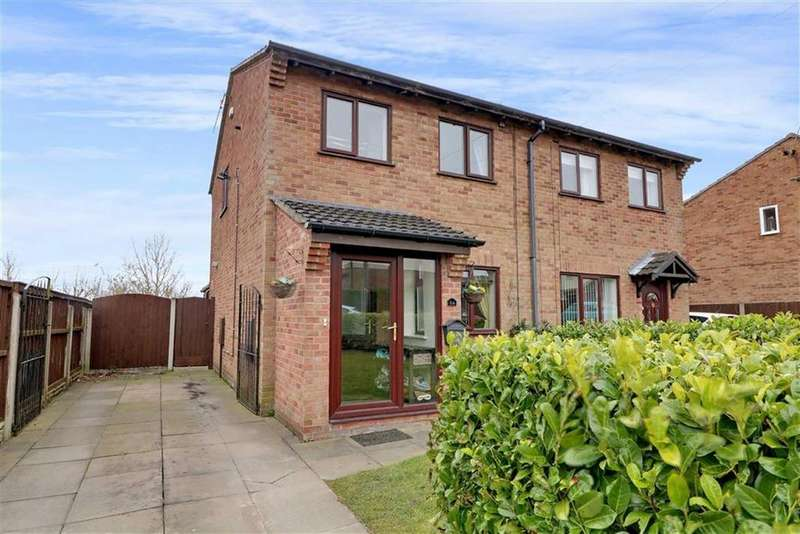 3 Bedrooms Semi Detached House for sale in Tawney Close, Kidsgrove, Stoke-on-Trent