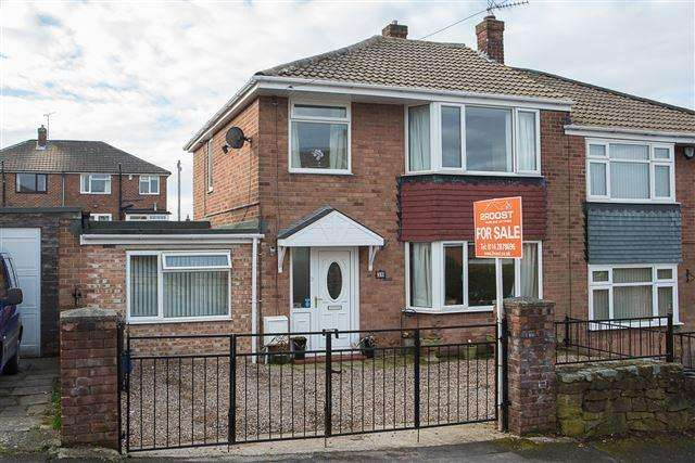 3 Bedrooms Semi Detached House for sale in Green Oak Drive, Sheffield , S26 5NA