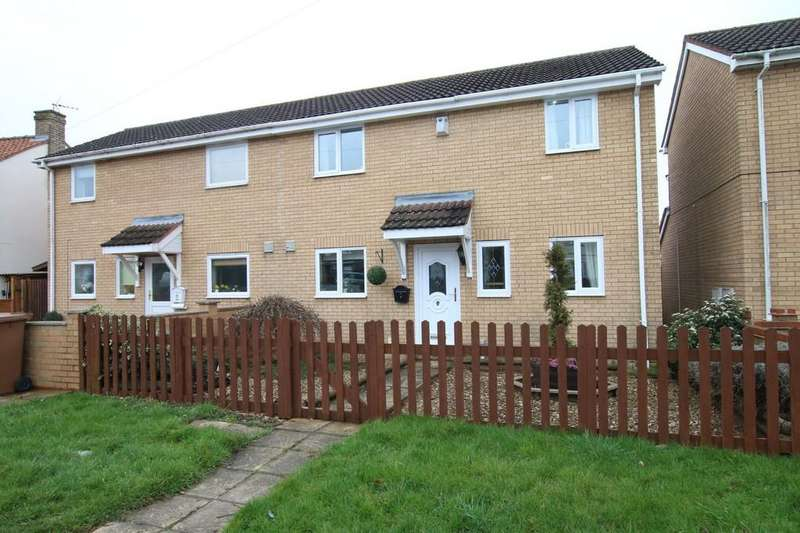 3 Bedrooms Semi Detached House for sale in Miller Close, Doddington, March