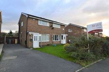 2 Bedrooms Semi Detached House for rent in Greenbarn Way, Blackrod, Bolton, BL6 5TF