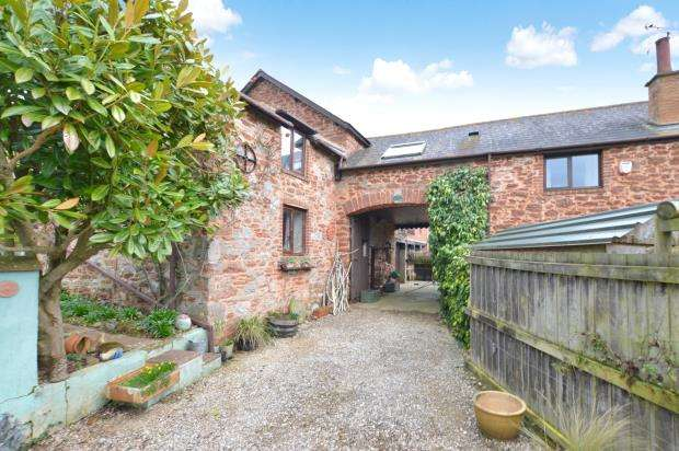 3 Bedrooms Semi Detached House for sale in Home Farm Barns, Haccombe, Newton Abbot, Devon