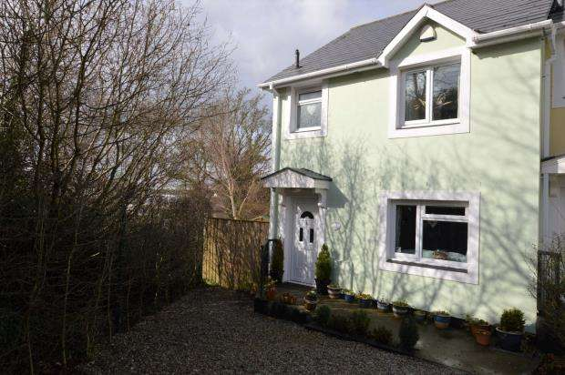 3 Bedrooms End Of Terrace House for sale in Kingdom Court, Steps Lane, Watcombe Park, Torquay Devon