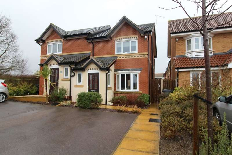 3 Bedrooms Semi Detached House for sale in Carlton Way, Treeton, Rotherham, S60