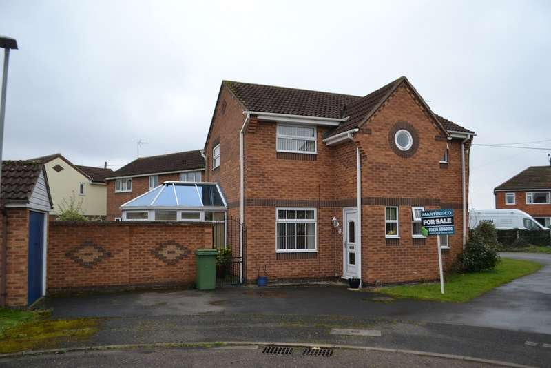 3 Bedrooms Detached House for sale in Farndon, Orchid Drive NG24