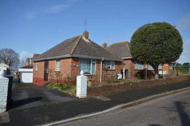 2 Bedrooms Detached Bungalow for sale in Elmfield Crescent, Exmouth, Devon