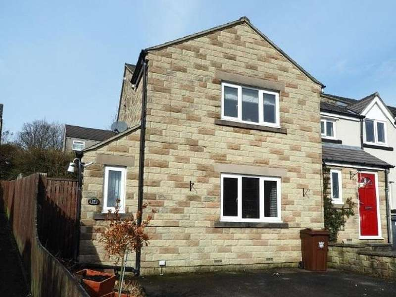 3 Bedrooms Town House for sale in Danesway, Chapel-en-le-Frith, High Peak, Derbyshire, SK23 0RF