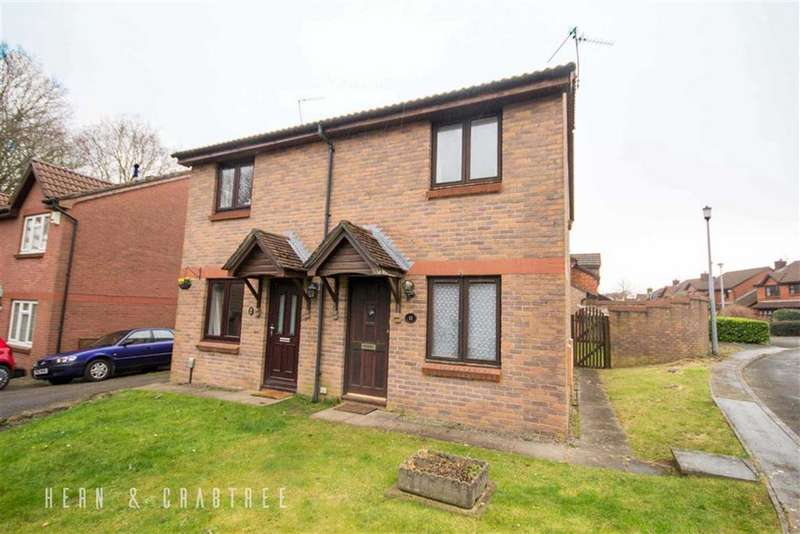 2 Bedrooms Semi Detached House for sale in Godwin Close, Danescourt, Cardiff