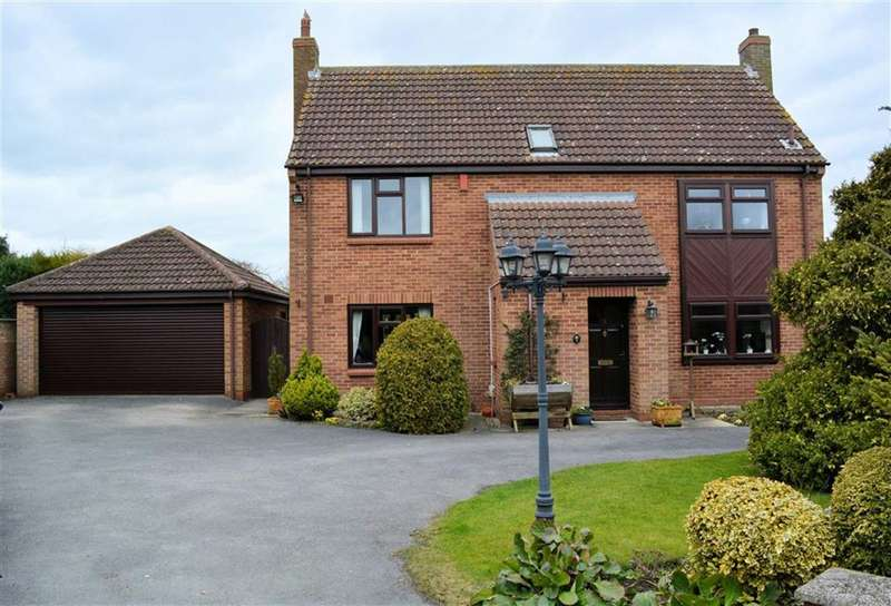 4 Bedrooms Detached House for sale in Holmefield Close, Brayton, YO8