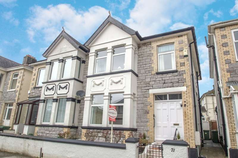 3 Bedrooms Semi Detached House for sale in Beacon Park, Plymouth