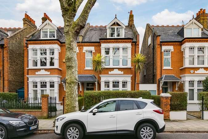 6 Bedrooms Semi Detached House for sale in Thornton Avenue, Chiswick