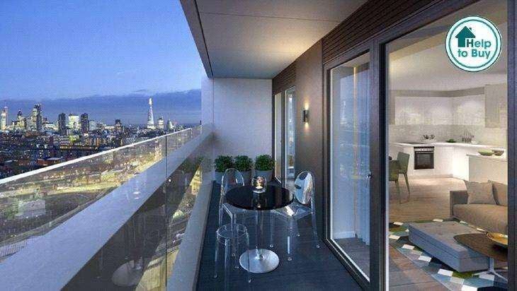 1 Bedroom Flat for sale in A63, XY Apartments, Maiden Lane, London, NW1