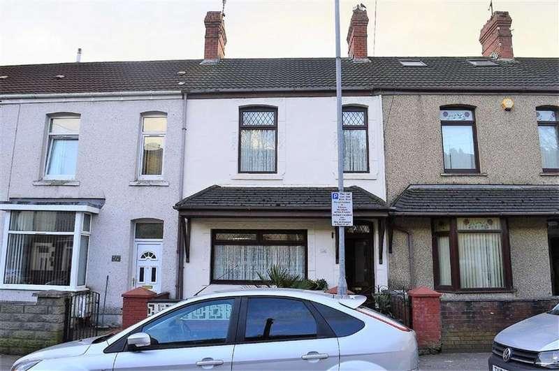 3 Bedrooms Terraced House for sale in Danygraig Road, Swansea, SA1