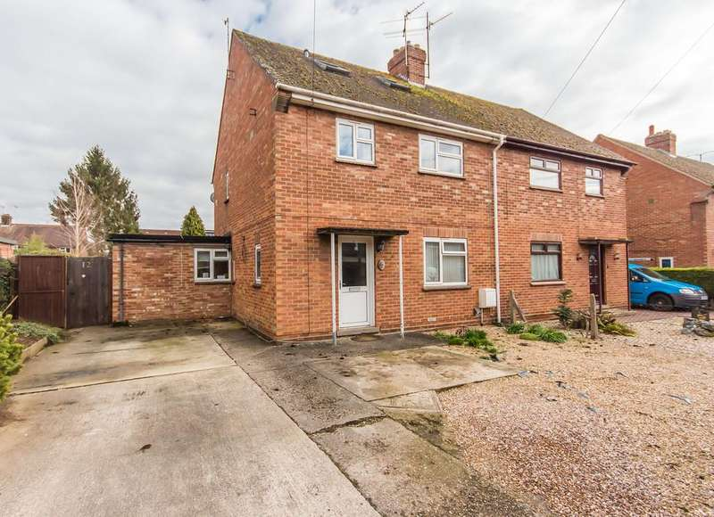 4 Bedrooms Semi Detached House for sale in Rivey Way, Linton
