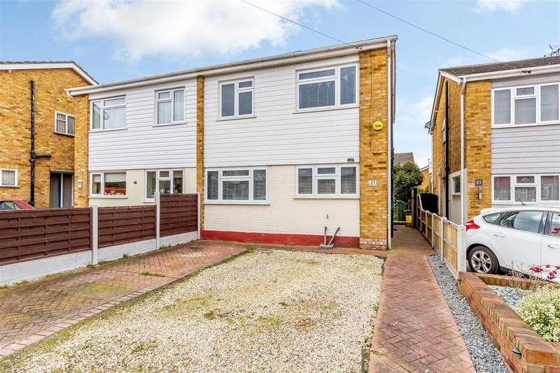 3 Bedrooms Semi Detached House for sale in Mandeville Way, Benfleet