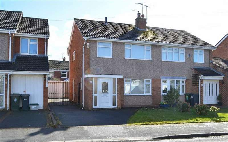 3 Bedrooms Semi Detached House for sale in Thorne Drive, Little Sutton, CH66