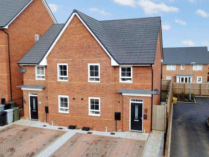 4 Bedrooms Semi Detached House for sale in Hazel Way, Edleston, Nantwich