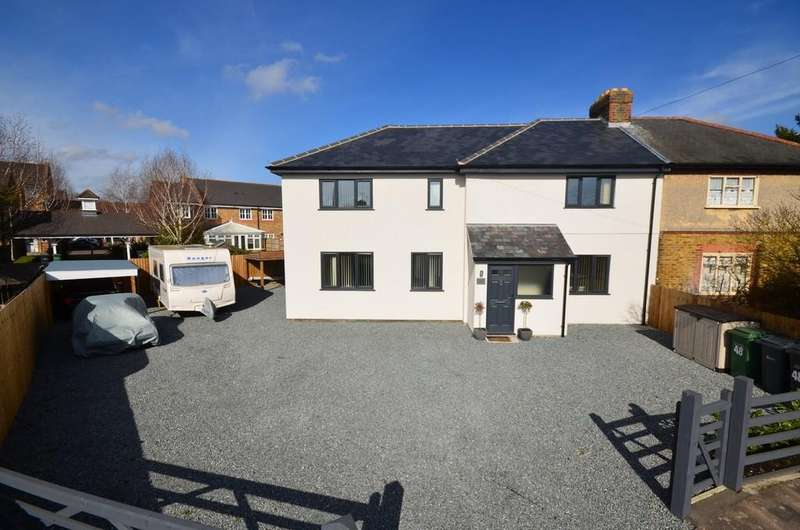 4 Bedrooms Semi Detached House for sale in Sunnyside, Braintree, CM7 2RR