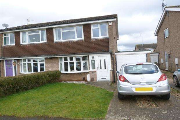 3 Bedrooms Semi Detached House for sale in Chestnut Close, Queniborough, Leicester, LE7