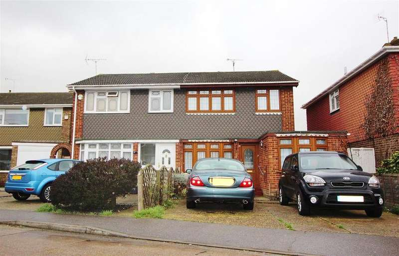 4 Bedrooms Semi Detached House for sale in Harvest Road, Canvey Island
