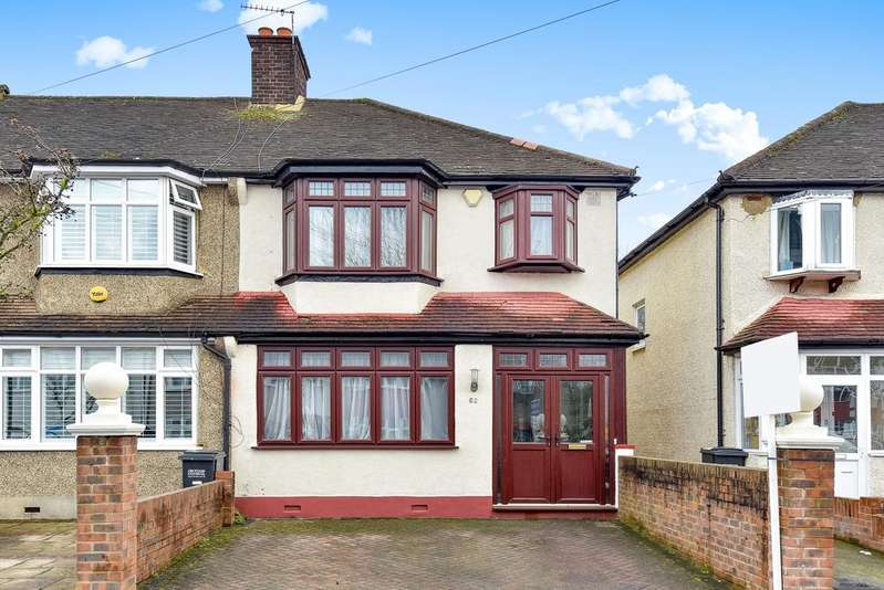 3 Bedrooms End Of Terrace House for sale in Verdayne Avenue Shirley CR0