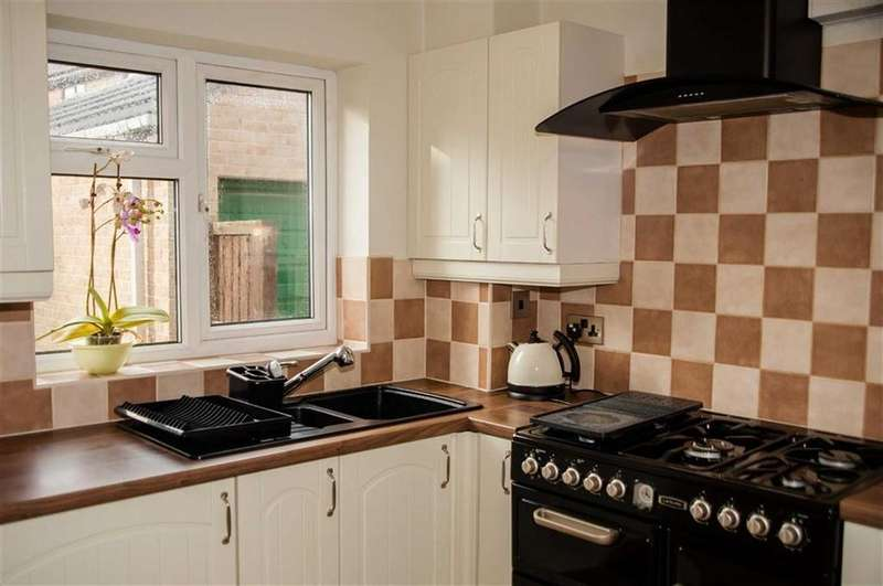 3 Bedrooms Semi Detached House for sale in Berwick Close, Walton, Chesterfield, S40