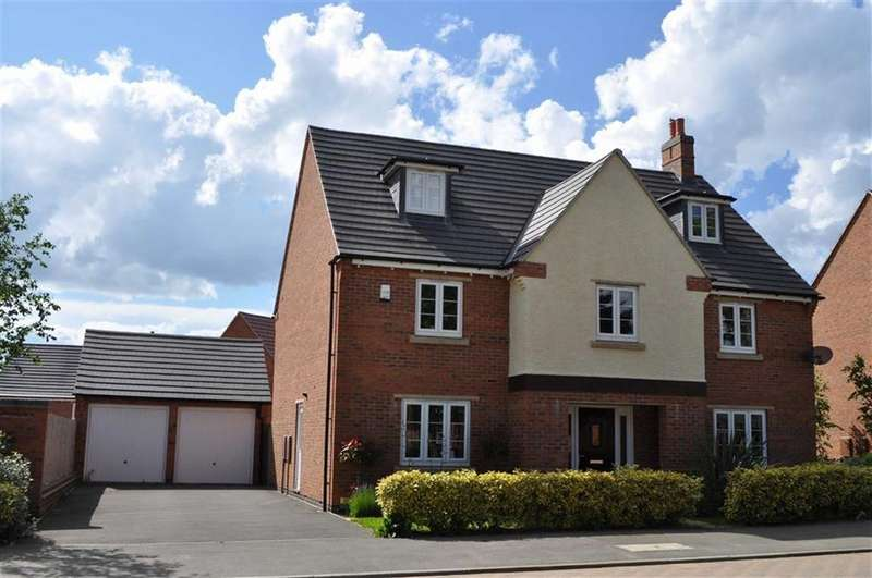 5 Bedrooms Detached House for rent in Barnards Way, Kibworth Harcourt, Leicestershire