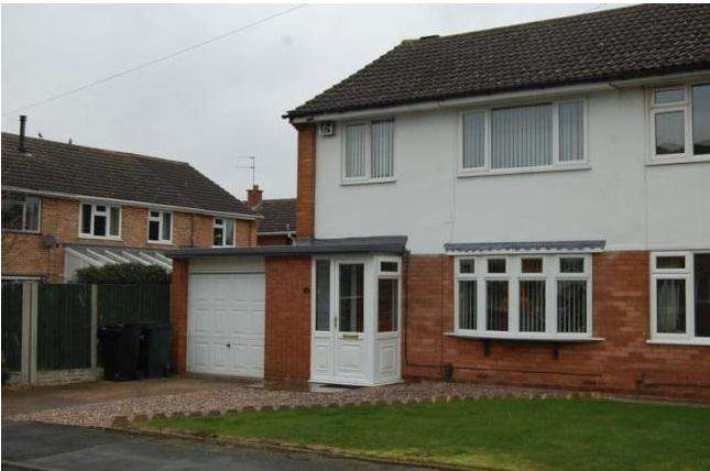 3 Bedrooms Semi Detached House for rent in Fairlawn, Albrighton, Wolverhampton WV7
