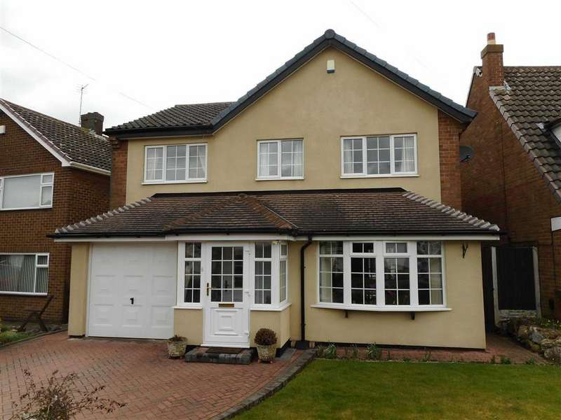 3 Bedrooms Detached House for sale in Daisy Bank Close, Pelsall, Walsall