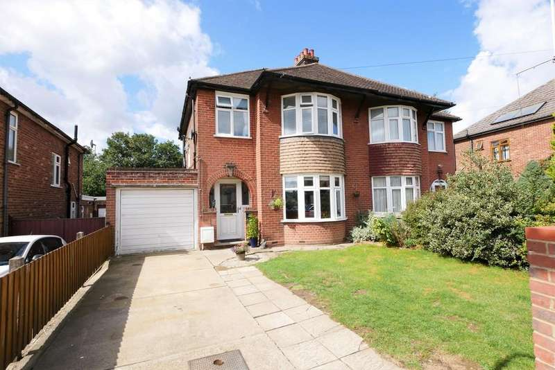 3 Bedrooms Semi Detached House for sale in Highfield Road, Ipswich