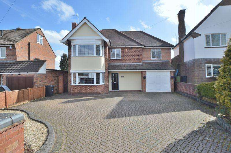 4 Bedrooms Detached House for sale in Eveson Road, NORTON, Stourbridge