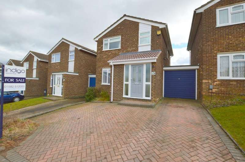3 Bedrooms Detached House for sale in Buckingham Drive, Stopsley, Luton, LU2 9RE