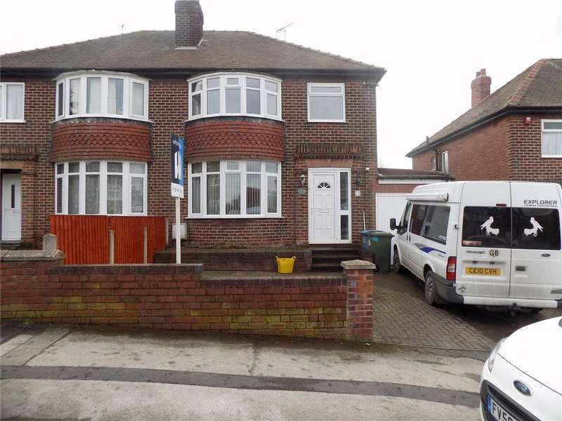 3 Bedrooms Semi Detached House for sale in Wingfield Avenue, Worksop, Nottinghamshire, S81