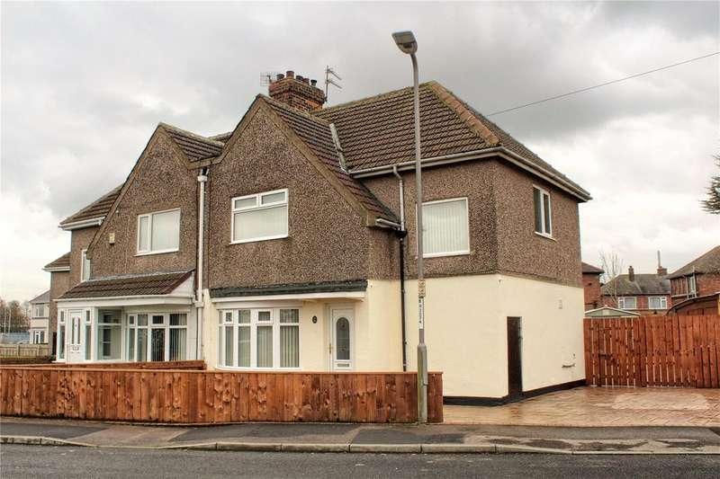 3 Bedrooms Semi Detached House for sale in Chiltons Avenue, Billingham