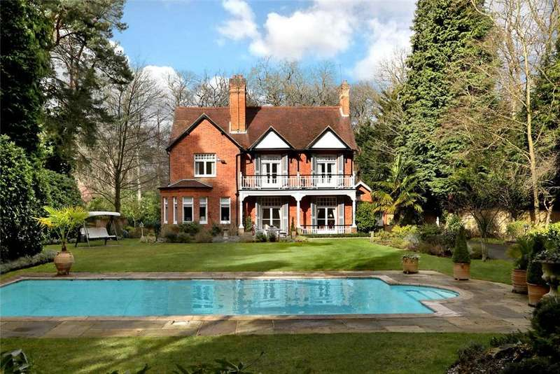 6 Bedrooms Detached House for sale in Heathfield Avenue, Sunninghill, Berkshire, SL5