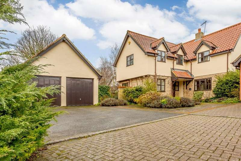 4 Bedrooms Detached House for sale in New Farm Close, FOWLMERE, SG8