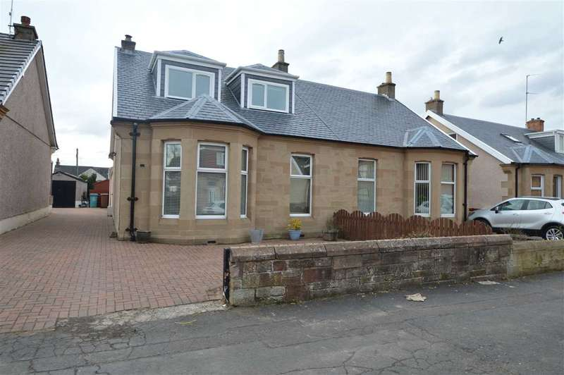 3 Bedrooms Semi Detached House for sale in Firpark Street, Motherwell