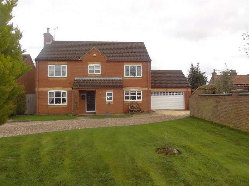 4 Bedrooms Property for sale in Vicarage Close, Digby, Lincoln