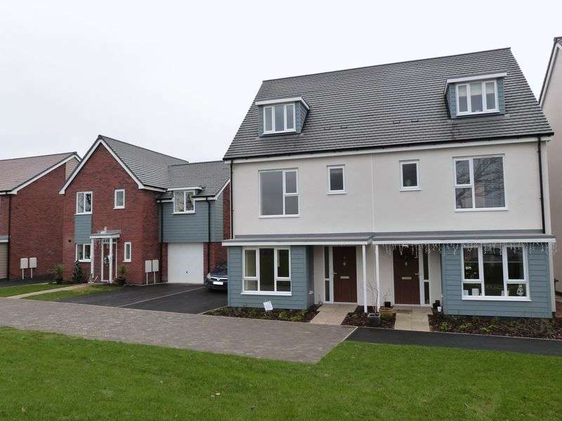 4 Bedrooms Semi Detached House for rent in Hornbeam Close, Ravenstone