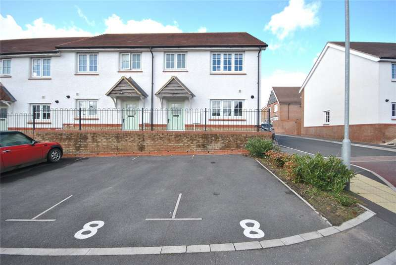 3 Bedrooms End Of Terrace House for sale in Wambrook Place, Chard, Somerset, TA20